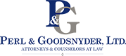 Perl & Goodsnyder, Ltd. Chicago Litigation Attorneys Logo
